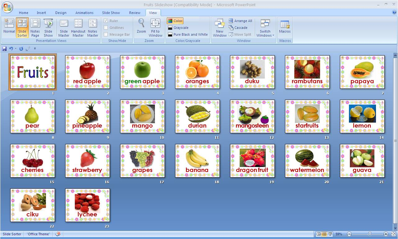 Web Tema Buah-buahan Tema Buah-buahan