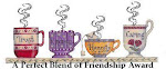 "I received a friendship award from <a href=""http://mystispirtualjourney.blogspot.com/"">Tracy</a>"