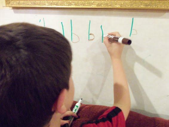 letter formation rhymes children