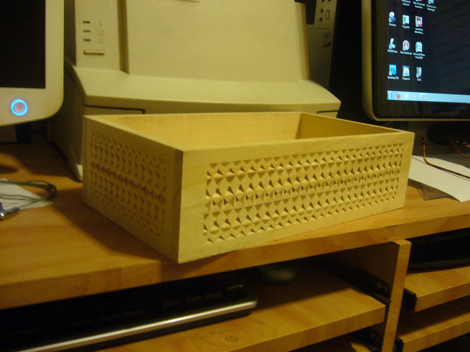 Mis trabajos con madera talla