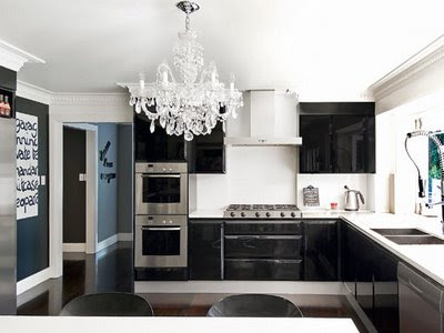 Black High Gloss Kitchen Alkemie Dolce Vita