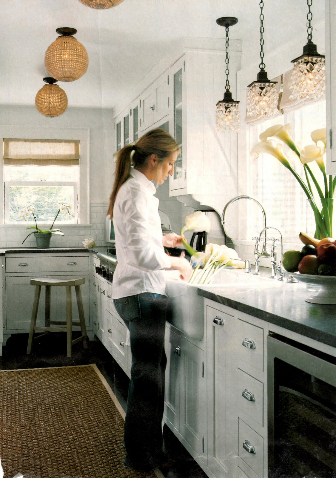 pendants over the kitchen sink - Design ManifestDesign Manifest