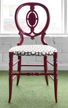 Victorian Chair Design