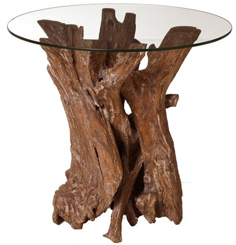 nantucket driftwood end table arteriors home to the trade also check out crate u0026 option