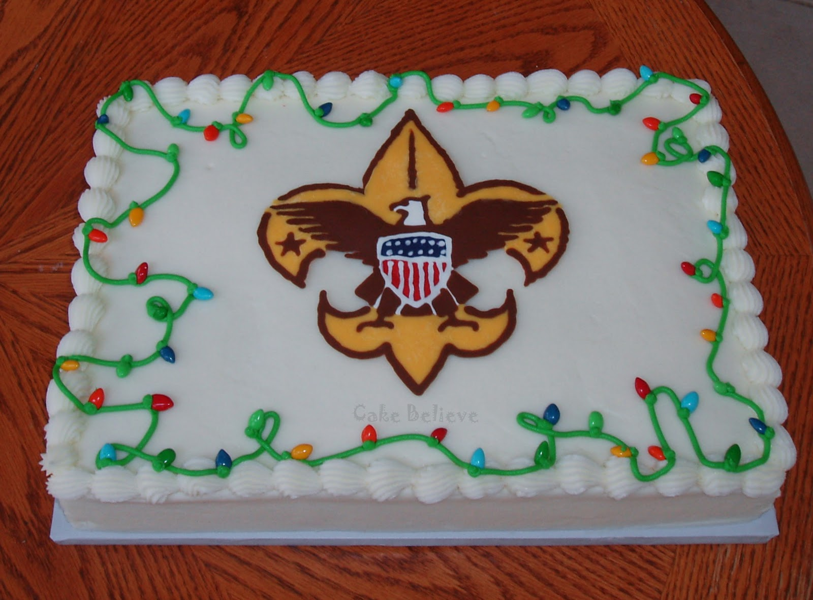 Cake Ideas For Boy Scouts : Boy Scout Cakes