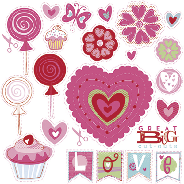 Juicy image within free printable scrapbook cutouts