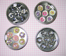 Marble Magnets in Tin