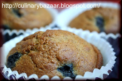 Blueberry And Cinnamon Muffins