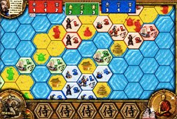Reiner Knizia's Samuri for the iPhone