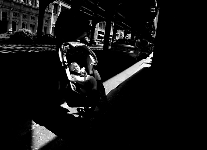 baby stroller  wabash ave   chicago  il