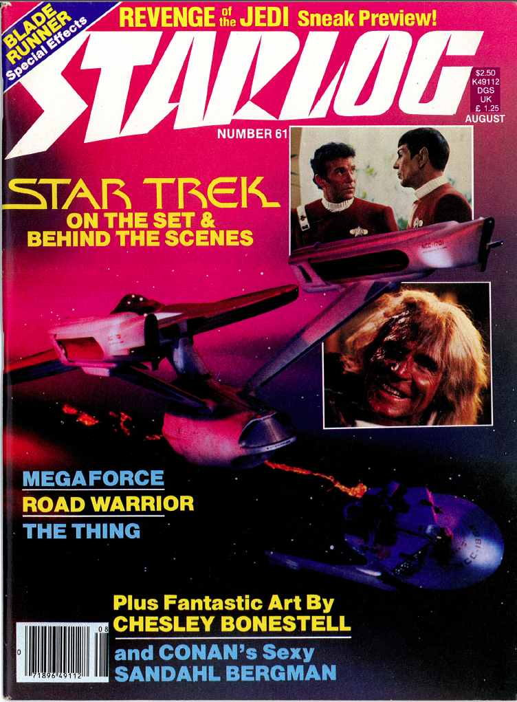Starlog Magazine Covers Star Trek