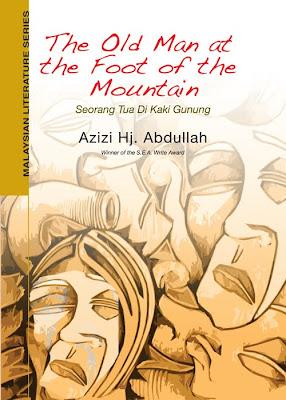 Kulit novel Seorang Tua di Kaki Gunung dalam bahasa Inggeris