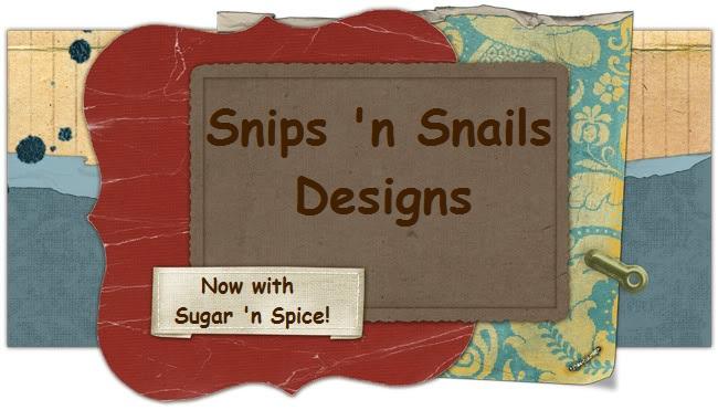 Snips 'n Snails Designs