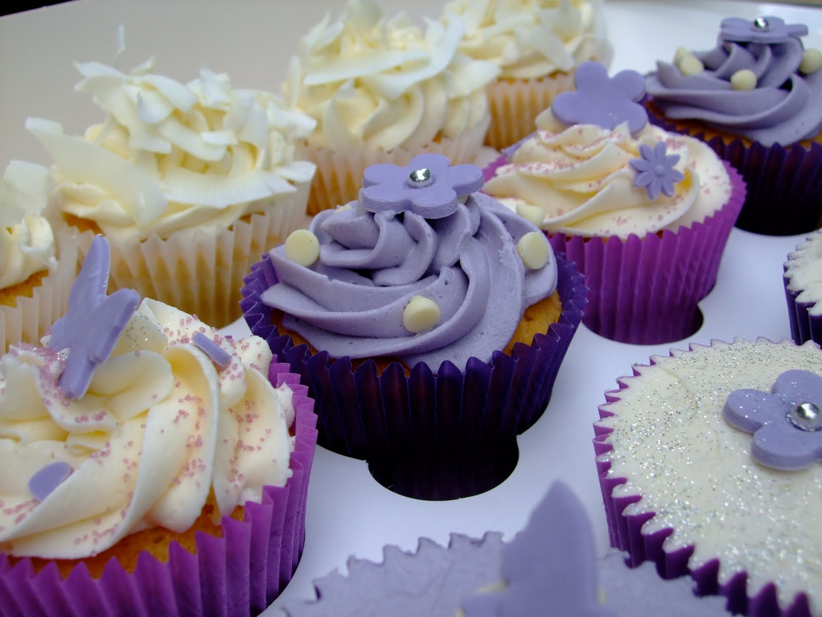 50th Birthday Cupcakes & Colourful Cupcakes of Newbury: 50th Birthday Cupcakes