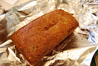 Zucchini Bread made with Applesauce via The Naptime Chef