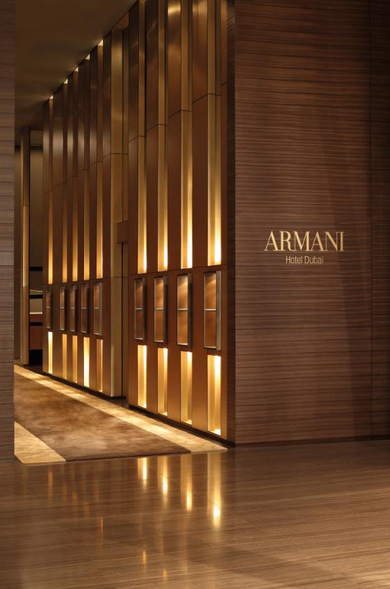 Armani hotel interior burj khalifa dubai celebrity for Armani hotel burj khalifa