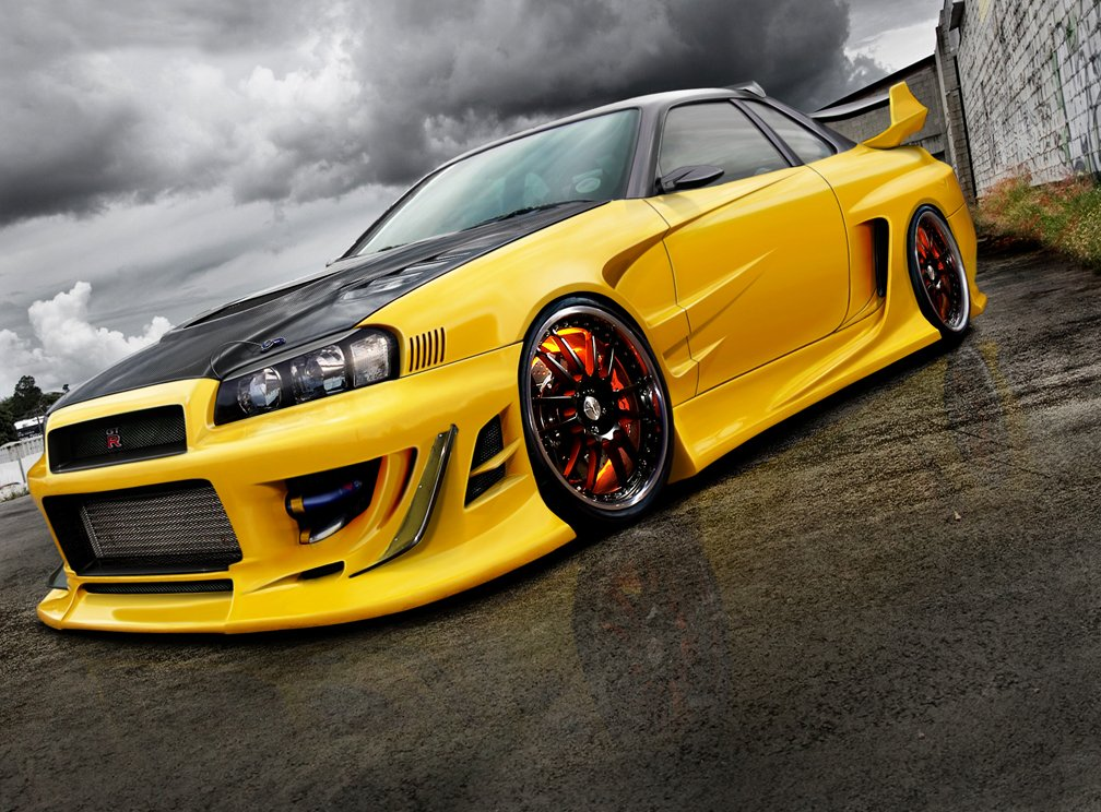 r34 skyline gtr wallpaper. Nissan Skyline R34 by Wrofee z