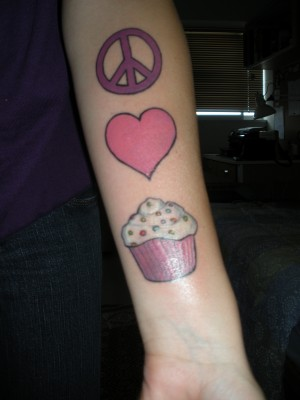 peace love and happiness tattoos