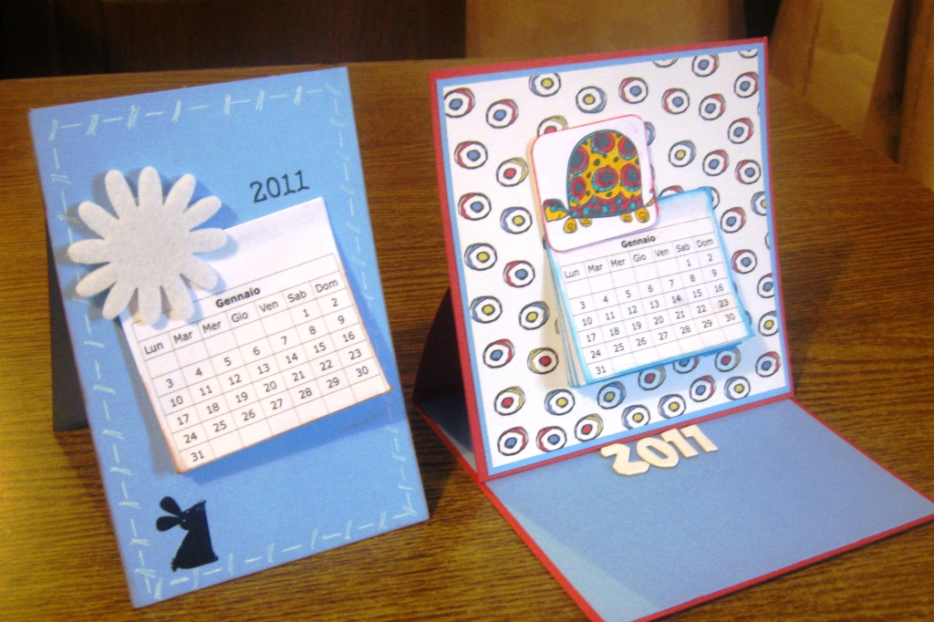Calendario da tavolo personalizzato con le tue foto forti sconti