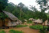 villaggio di capanne