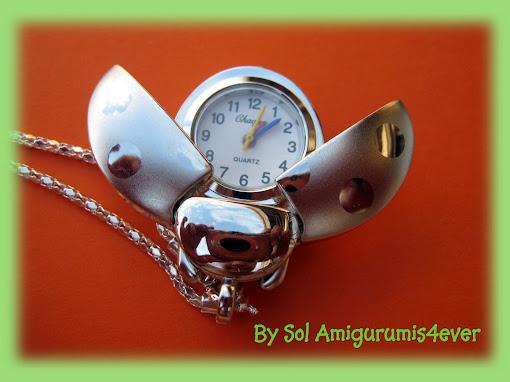 Promoción !!!!! Reloj Mariquita Colgante