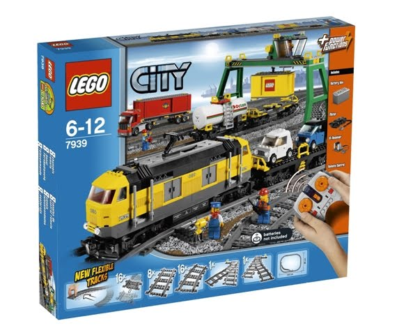 Lego Cargo Train Set