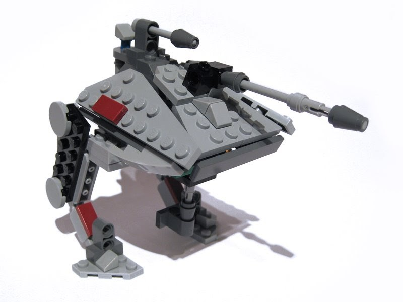 Boris Bricks 8014 Clone Walker Battle Pack Alternative Model
