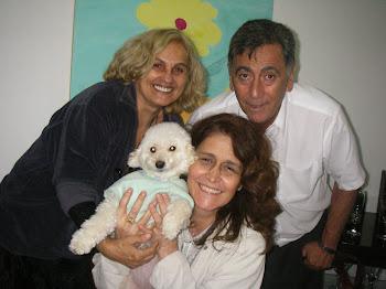 em casa. em família.