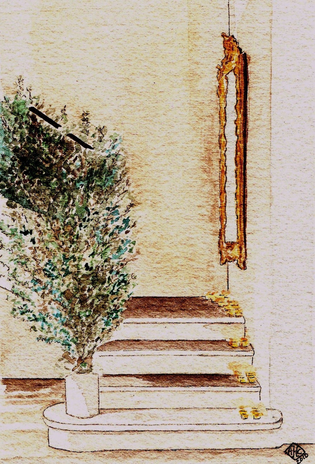 the christmas staircase… | French Essence