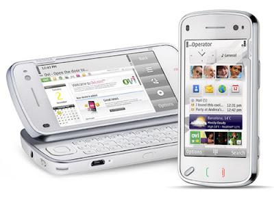 Nokia 'nın Türkiye'de yakında satışa sunacağı N97 dokunmatik ...