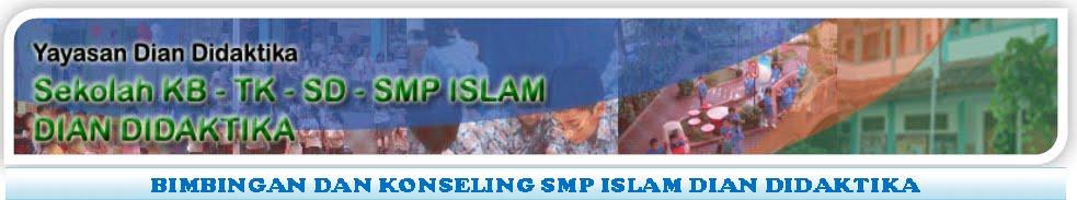 Bimbingan dan Konseling SMP Islam Dian Didaktika