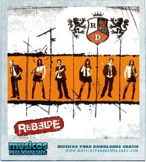 Capa RBD – Rebelde | músicas
