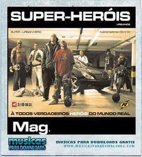 Capa Mag – Super Heróis | músicas