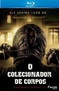 Filme Poster O Colecionador de Corpos BRRip RMVB Dublado