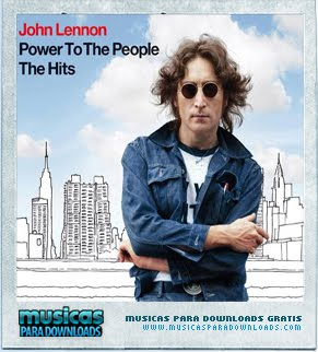 Capa John Lennon   Power To The People   The Hits  | músicas