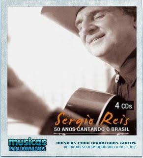 Capa Sérgio Reis   50 Anos Cantando o Brasil  | músicas