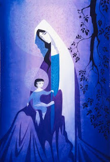 Eyvind Earle Winter And Christmas Illustrations