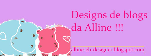Design de Blogs da Alline
