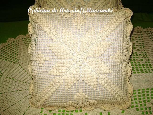 Almofadas De Croche Em Barbante Graficos | newhairstylesformen2014.com