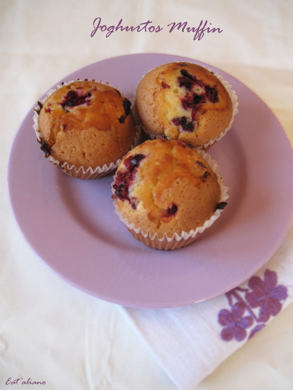 how to eat a muffin correctly
