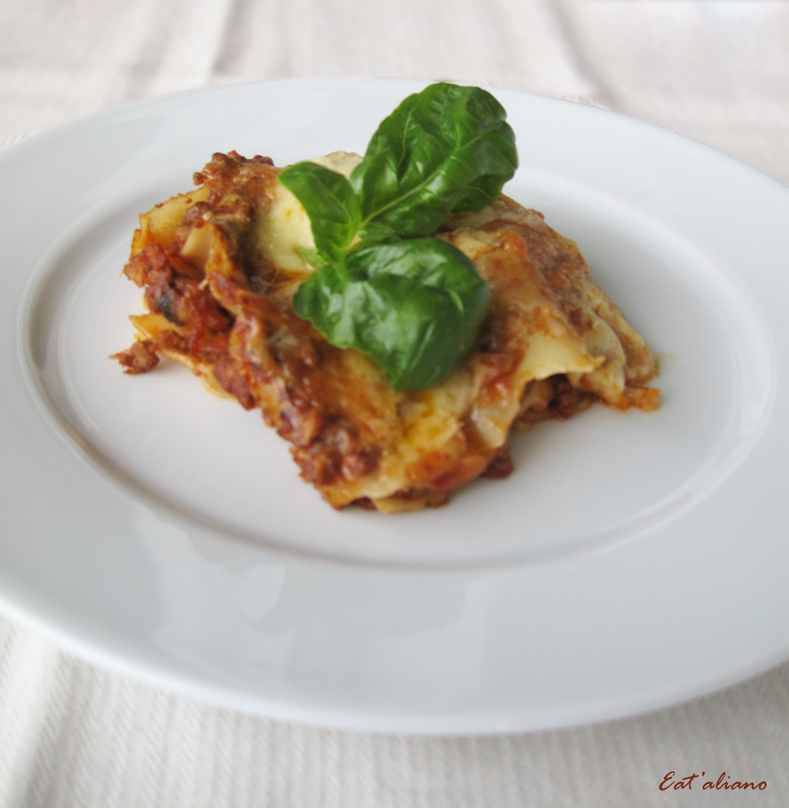 Lasagne Alla Bolognese Recipes — Dishmaps
