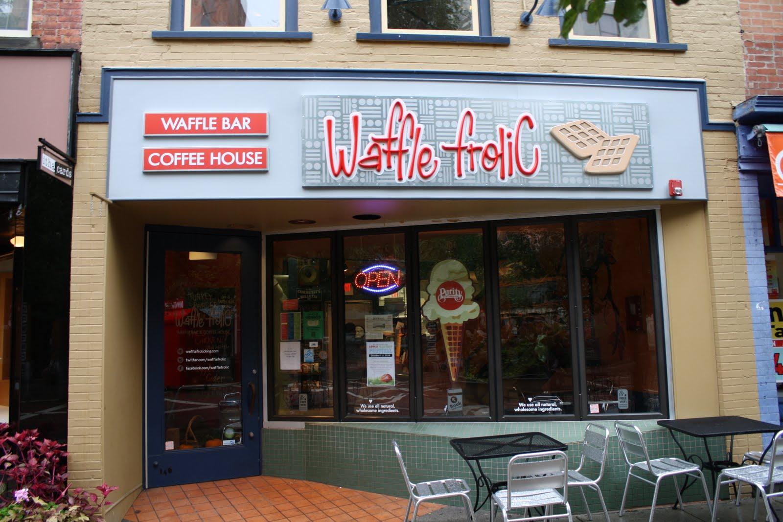 Restaurant Review Waffle Frolic Ithaca Ny