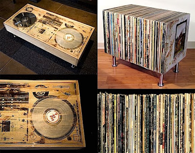 Beau Scratch DJ Coffee Table Etc