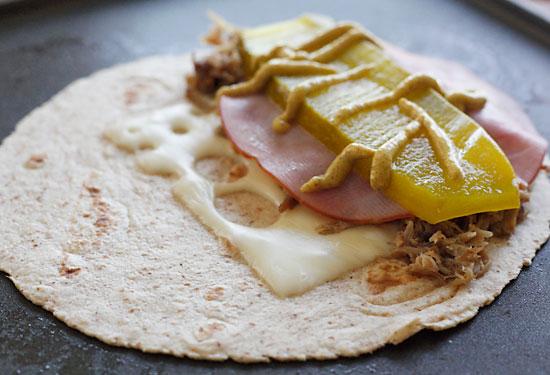Cuban Sandwich Quesadilla | Skinnytaste