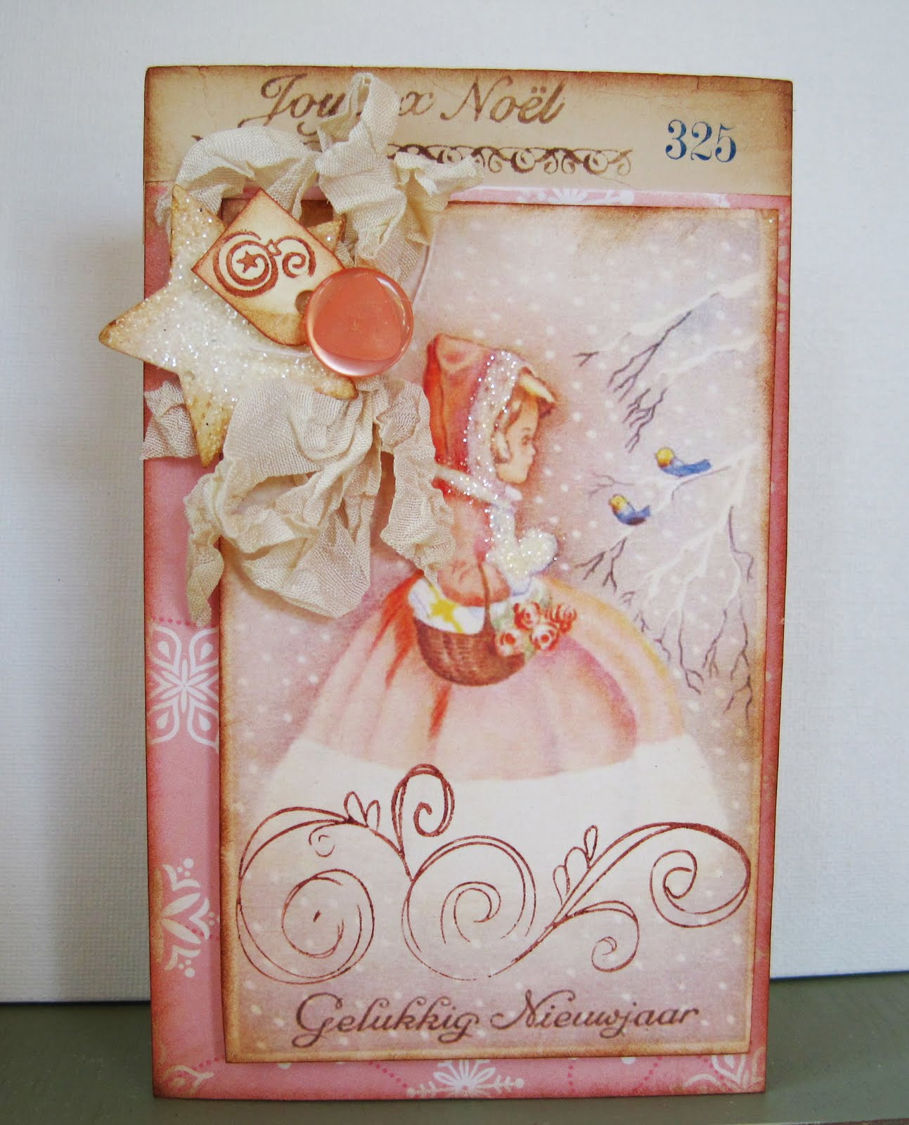Lori hairston shabby chic christmas for Shabby chic christmas