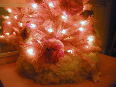 Site Blogspot  Tips  Decorating on The Ivy Cottage Blog  Pretty In Pink Christmas Tree