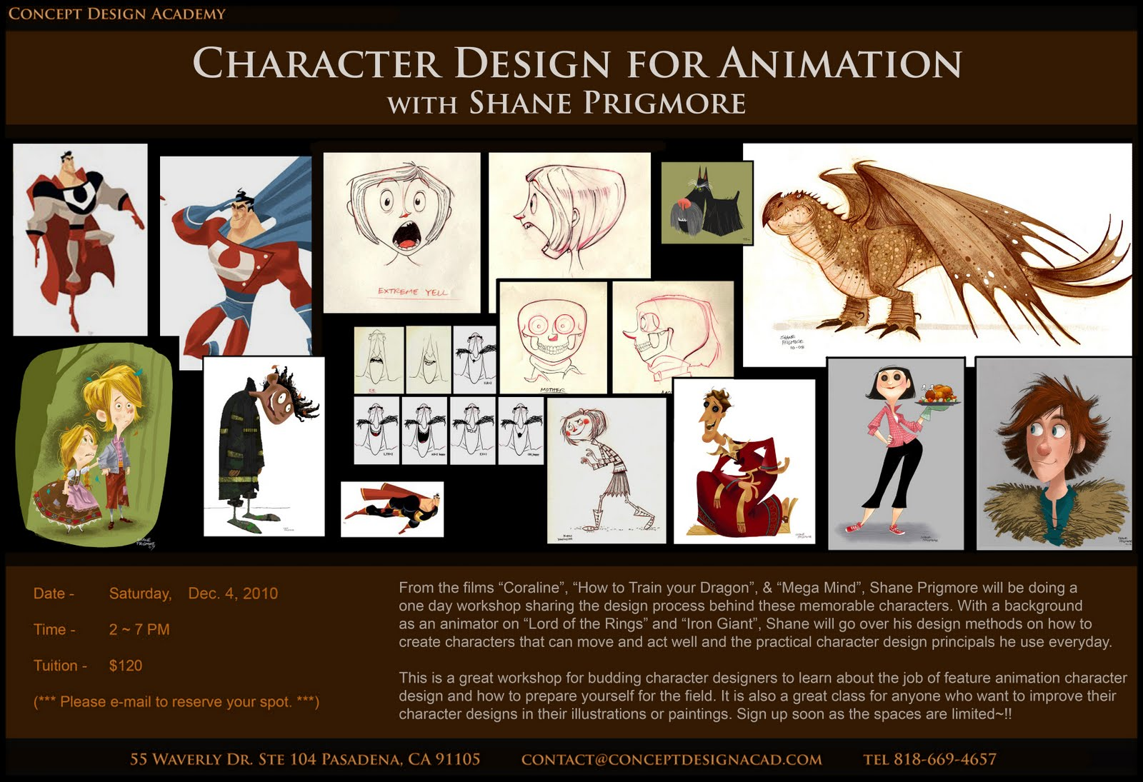 Character Design For Animation : Concept design academy quot character for animation