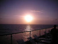 Is there anything better than watching a sunset from a cruise deck?