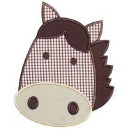 Horsehead applique