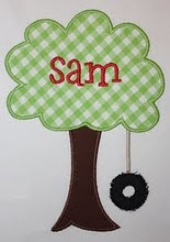 Tree Swing with Name